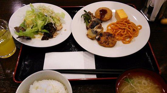 Hotel Business Inn Niigata - Minami : 朝食