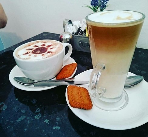 Wallasey, UK: Wonderful coffee!  We come back for more often. ☕ 🍰