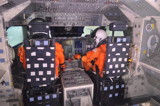 space shuttle interior tour - photo #14