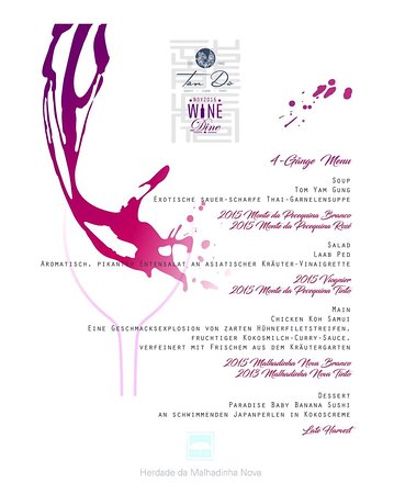 Bad Rappenau, ألمانيا: Wine & Dine Event 17.November 2016