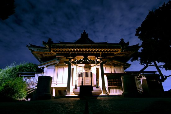 Hayama-machi, Japan: Night view