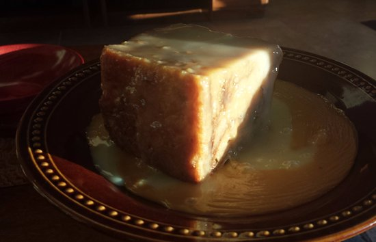Brookshire, TX: White Chocolate Bread Pudding