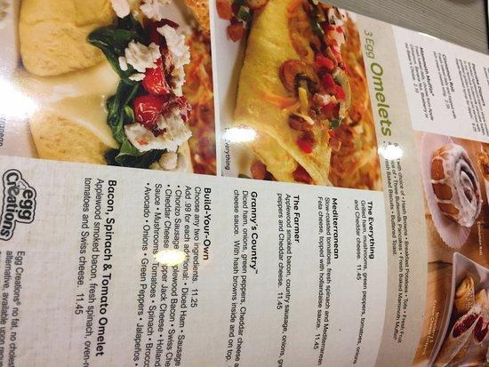 perkins restaurant bakery breakfast menu