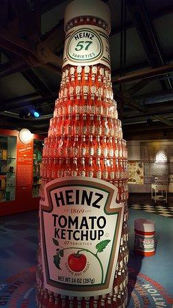 1688f1da9 Heinz ketchup history and display - Picture of Senator John Heinz ...