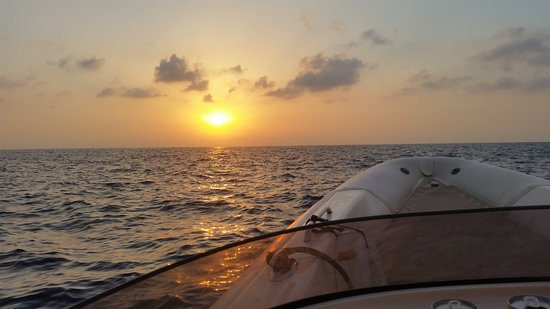Malta Rib Cruises and Charter - Private Boat Service : Sunset on the water ;-)