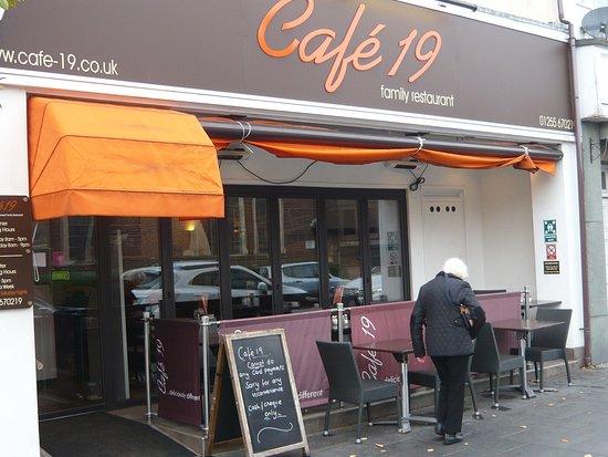 Cafe 19: Cafe Exterior