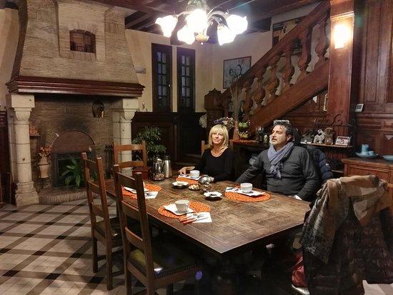 Canteleu, Francia: Sala colazione