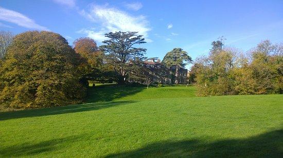 Wincanton, UK: Spacious grounds of Holbrook House