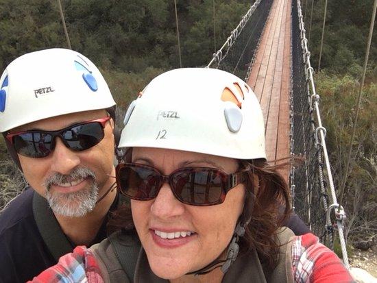 Santa Margarita, Kaliforniya: From suspension bridge!!