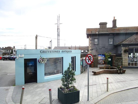 Greystones Antiques (next to DART station), stocks silver, jewellery and decorative antiques