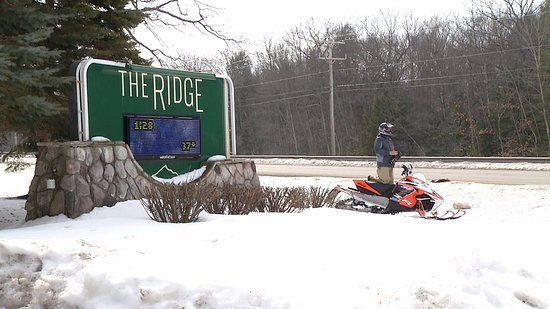 The Ridge: We are located right on Trail 7 for all of those who ride!