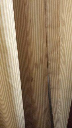 كواليتي إن توليدو إيربورت: stains on curtains