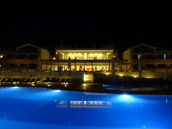 Kalami, Grecia: Night view