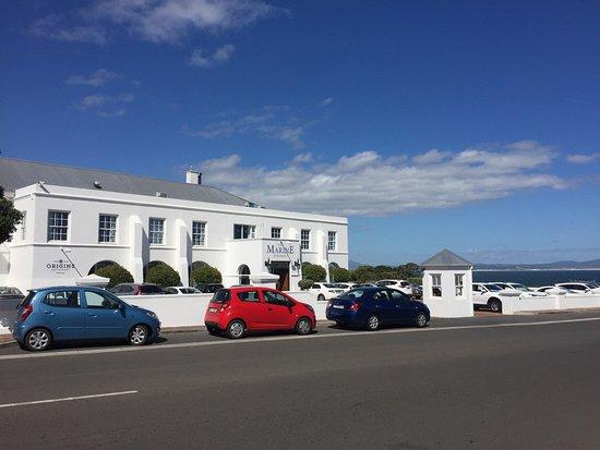 The Marine Hermanus: View of hotel