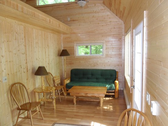 North Muskegon, MI: Living Room on Cottage #2 (1BR)