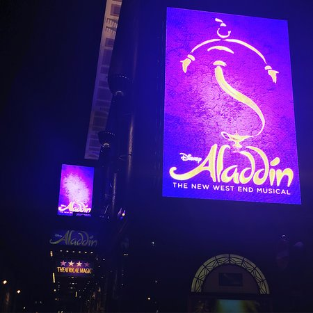 Prince Edward Theatre Aladdin At Edwards
