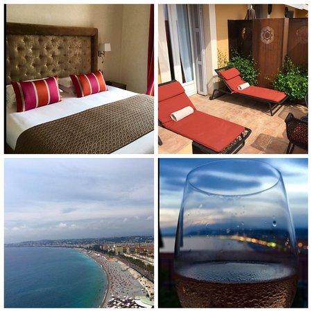 Hotel La Perouse: collage #1