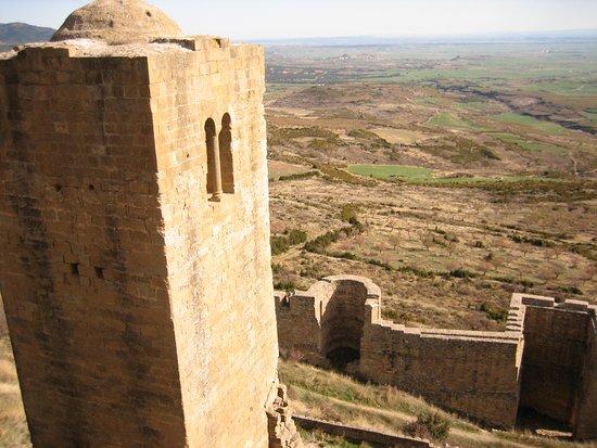 Aragonia, Hiszpania: vistas desde la puerta