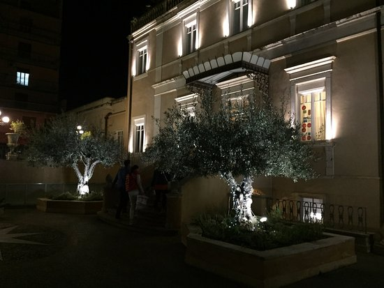 Villa Del Bosco Hotel: Esterni illuminati