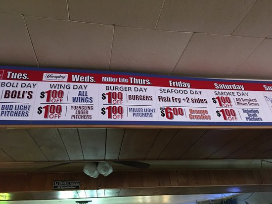 Campbelltown, Pensilvania: BLT, daily specials and sign
