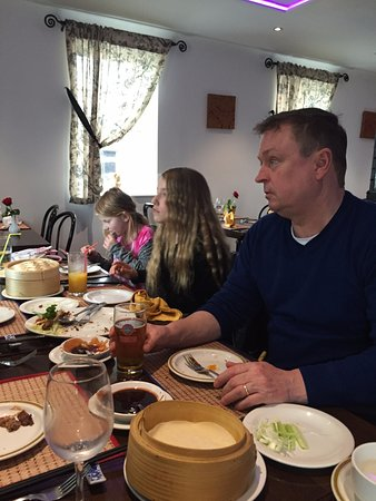 The Rivermill: Family lunch
