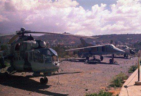 Mek'ele, Etiopía: Airforce