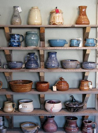 Palisade, CO: Locally handcrafted pottery