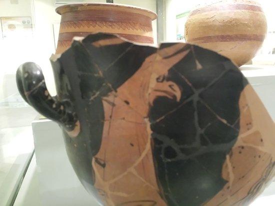 Galera, Hiszpania: Vasos griegos.
