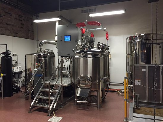 Parkersburg Brewing Company 7bbl System