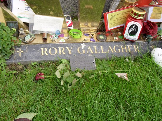 Rory Gallagher Gravesite - St. Olivers Cemetery: The Greatest Guitarist ever