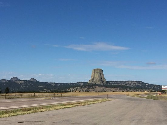 Devils Tower from the distance