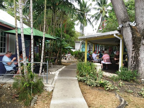 Holetown, Barbados: There are quite  a few different seating areas to choose from