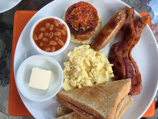Holetown, Barbados: We have a full list of breakfast items which you can choose from