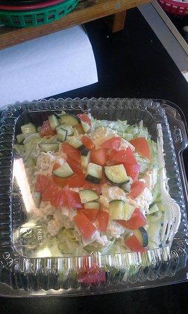 Hoquiam, WA: Mouth watering salads