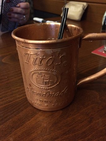 Silver City Brewery : The Silverdale Mule  - Tito's Vodka; ginger liqueur; housemade ginger beer & lime!   Oh Baby!!
