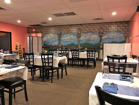 Ronak Indian Restaurant The Interior