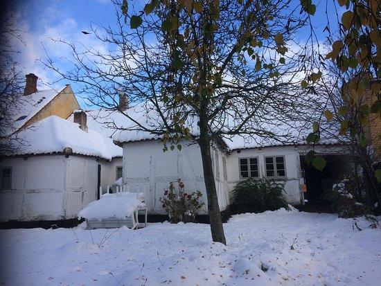 Nysted, Denmark: Gården ved museet Aarestrups hus