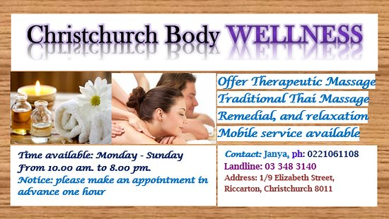 Christchurch asiatische Massage