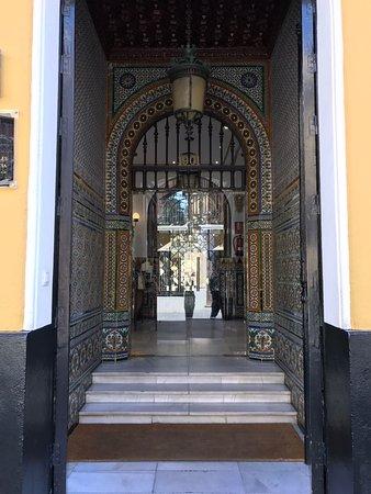 Hotel San Gil: Entree