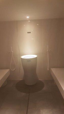 Abano Terme, Itália: il bagno turco da dentro...