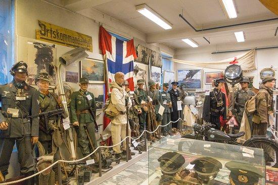 Lofoten War Museum: Ausstellung