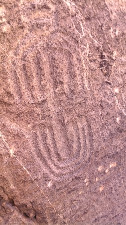 Parowan, UT: Incised rock art