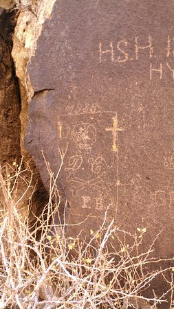 Parowan, UT: Historical graffiti