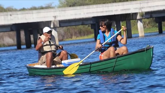 Palmdale, Flórida: Day Trip - rowing along