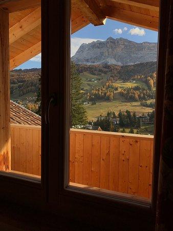 Badia, Italia: Veduta dalla camera