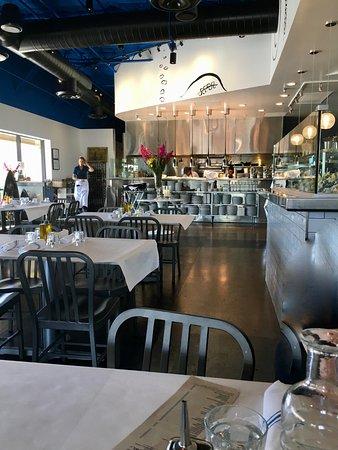 Shrimp platter picture of the grand blue scottsdale for Fish restaurants in scottsdale