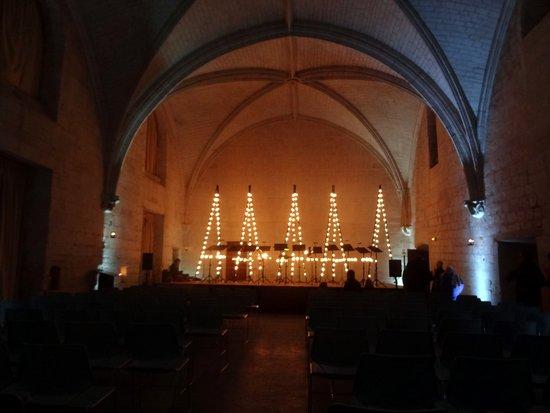 Fontevraud-l'Abbaye, França: La scène de concert
