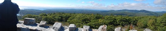 Mount Battie: A panoramic view from atop the tower