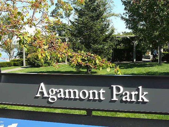 Agamont Park sign
