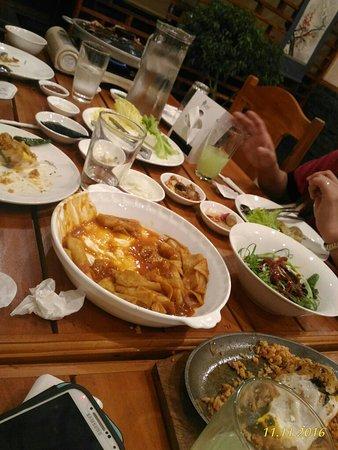 hanok authentic restaurant korean food is the best